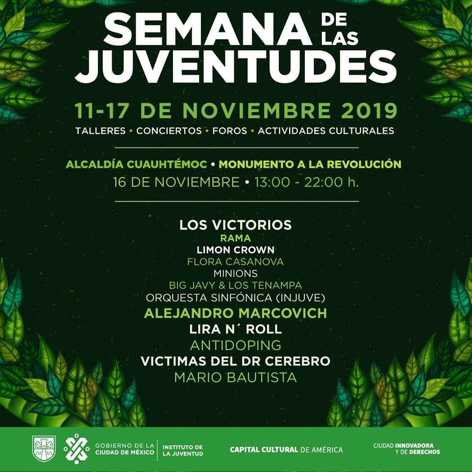 Semana de las Juventudes 16 de noviembre 2019